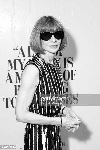 Anna Wintour attends the 2017 CFDA Fashion Awards on June 5 2017 in New York City