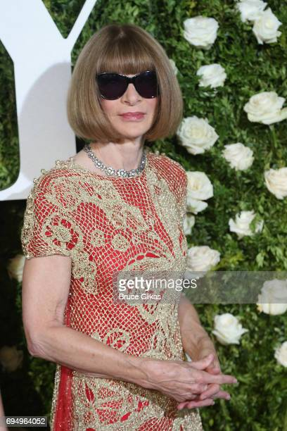Anna Wintour attends the 71st Annual Tony Awards at Radio City Music Hall on June 11 2017 in New York City