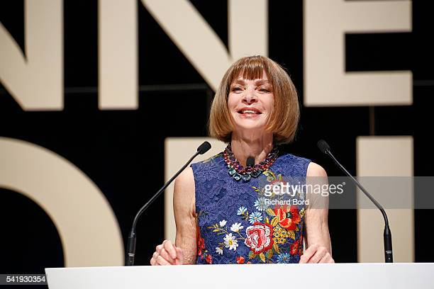 Anna Wintour attends The Cannes Lions 2016 on June 21 2016 in Cannes France