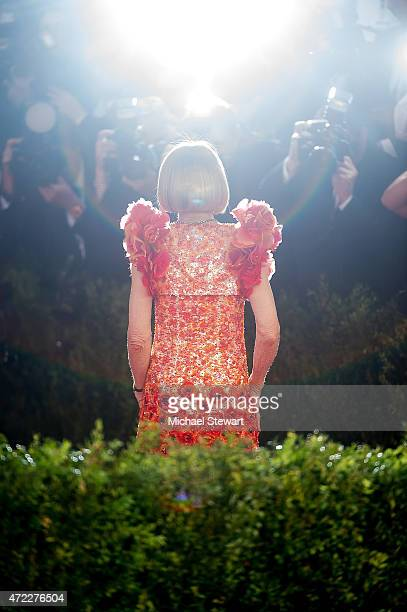 Anna Wintour attends the 'China Through The Looking Glass' Costume Institute Benefit Gala at Metropolitan Museum of Art on May 4 2015 in New York City