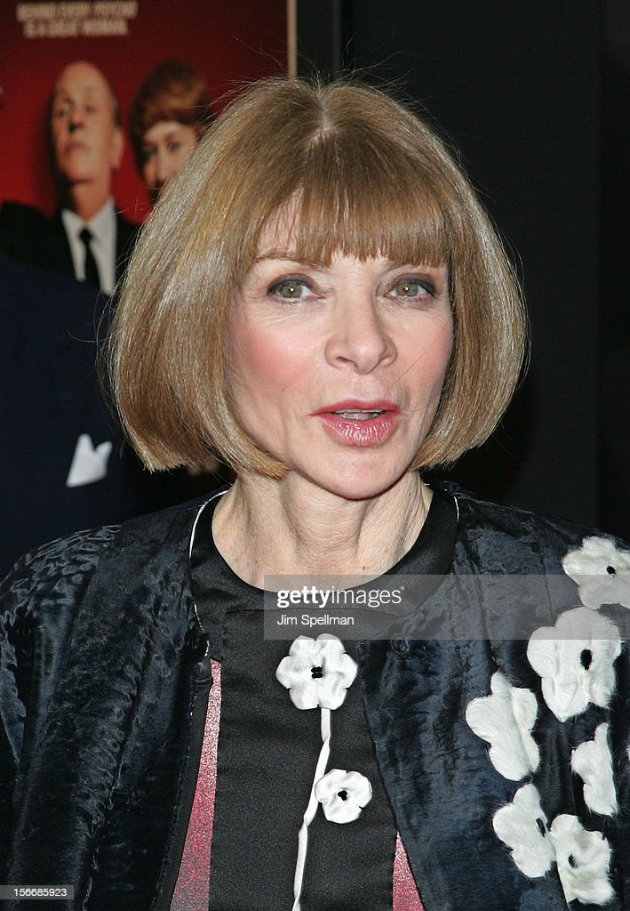 <a gi-track='captionPersonalityLinkClicked' href=/galleries/search?phrase=Anna+Wintour&family=editorial&specificpeople=202210 ng-click='$event.stopPropagation()'>Anna Wintour</a> attends the 'Hitchcock' New York Premiere at Ziegfeld Theatre on November 18, 2012 in New York City.