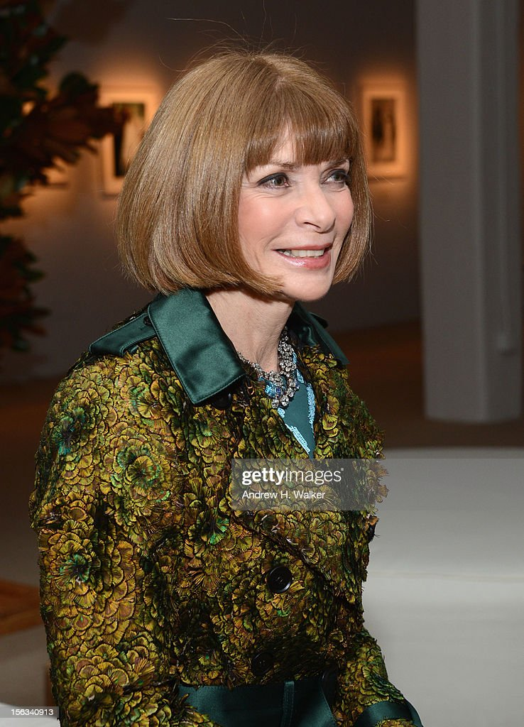 Anna Wintour attends The Ninth Annual CFDA/Vogue Fashion Fund Awards at 548 West 22nd Street on November 13, 2012 in New York City.