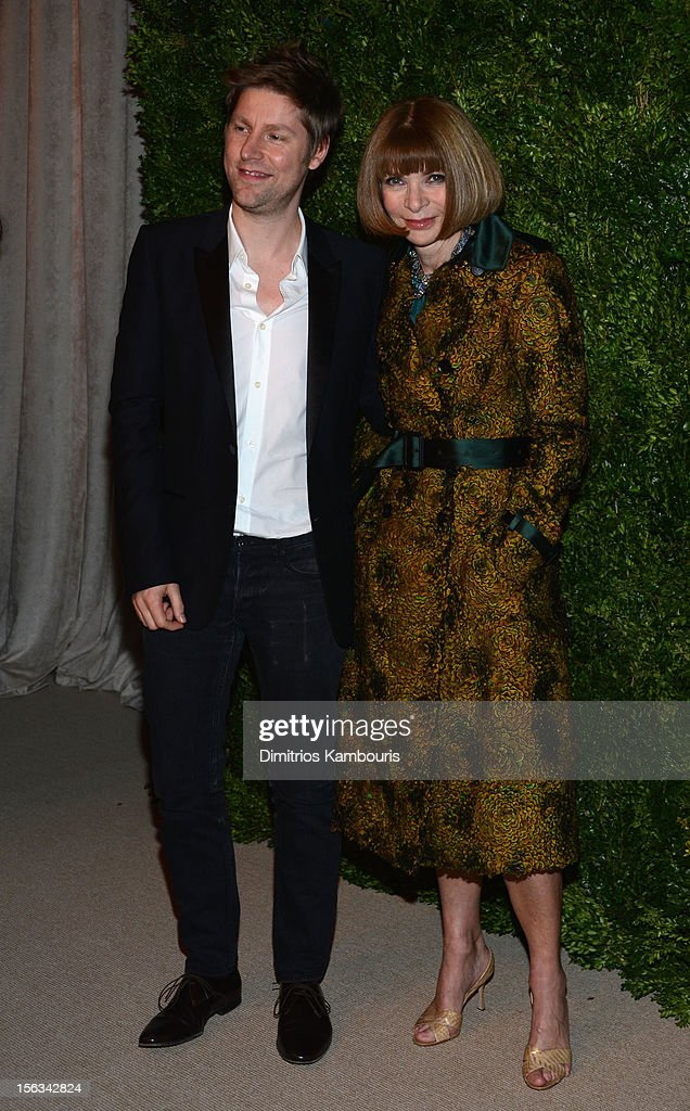 <a gi-track='captionPersonalityLinkClicked' href=/galleries/search?phrase=Anna+Wintour&family=editorial&specificpeople=202210 ng-click='$event.stopPropagation()'>Anna Wintour</a> attends The Ninth Annual CFDA/Vogue Fashion Fund Awards at 548 West 22nd Street on November 13, 2012 in New York City.