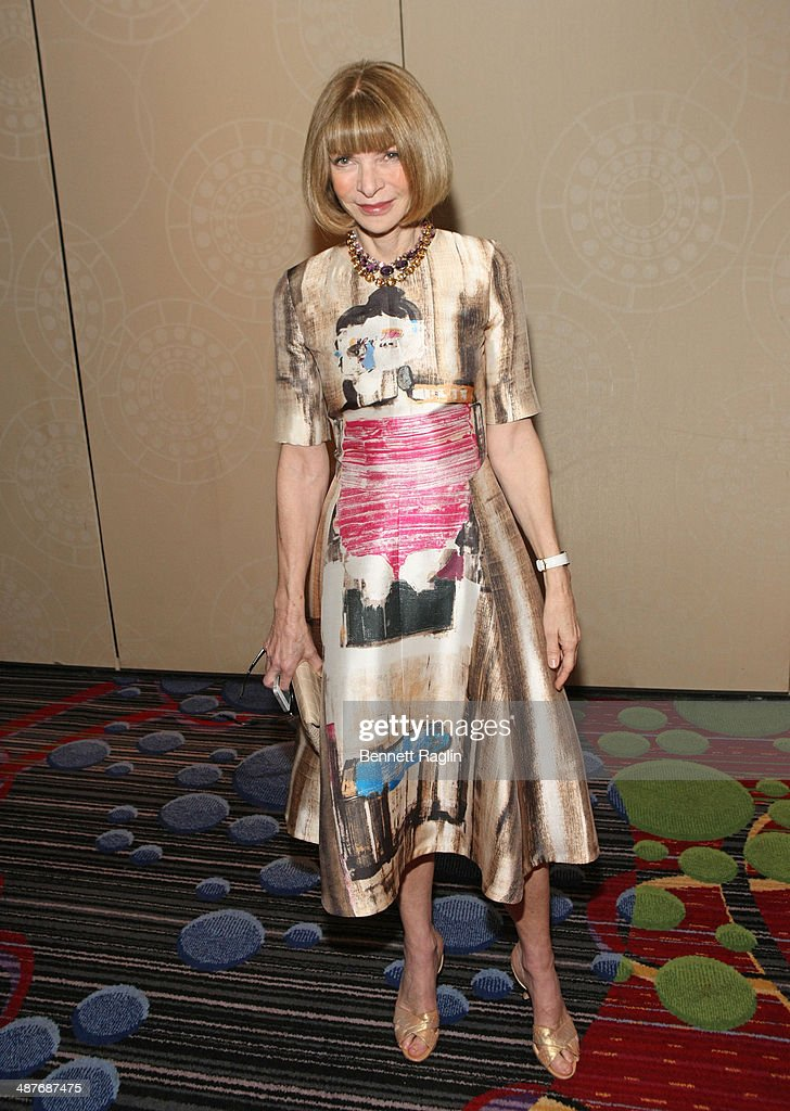 <a gi-track='captionPersonalityLinkClicked' href=/galleries/search?phrase=Anna+Wintour&family=editorial&specificpeople=202210 ng-click='$event.stopPropagation()'>Anna Wintour</a> Editor In Chief of Vogue attends the 2014 National Magazine Awards at The New York Marriott Marquis on May 1, 2014 in New York City.