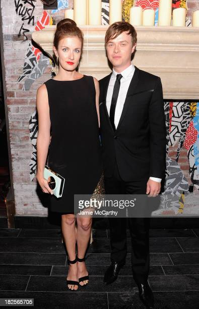 Anna Wood and Dane DeHaan attend The Cinema Society and Johnston Murphy screening of Sony Pictures Classics' 'Kill Your Darlings' after party>> at...