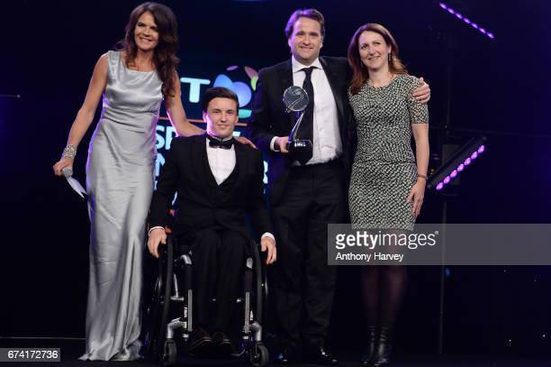 Annabel Croft and Gordon Reid present the Participation Event of the Year award in association with Miller to I Am Team GB The Nation's Biggest...