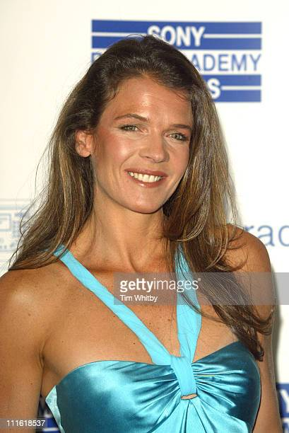 Annabel Croft during 2005 Sony Radio Academy Awards at Grosvenor House Hotel in London Great Britain