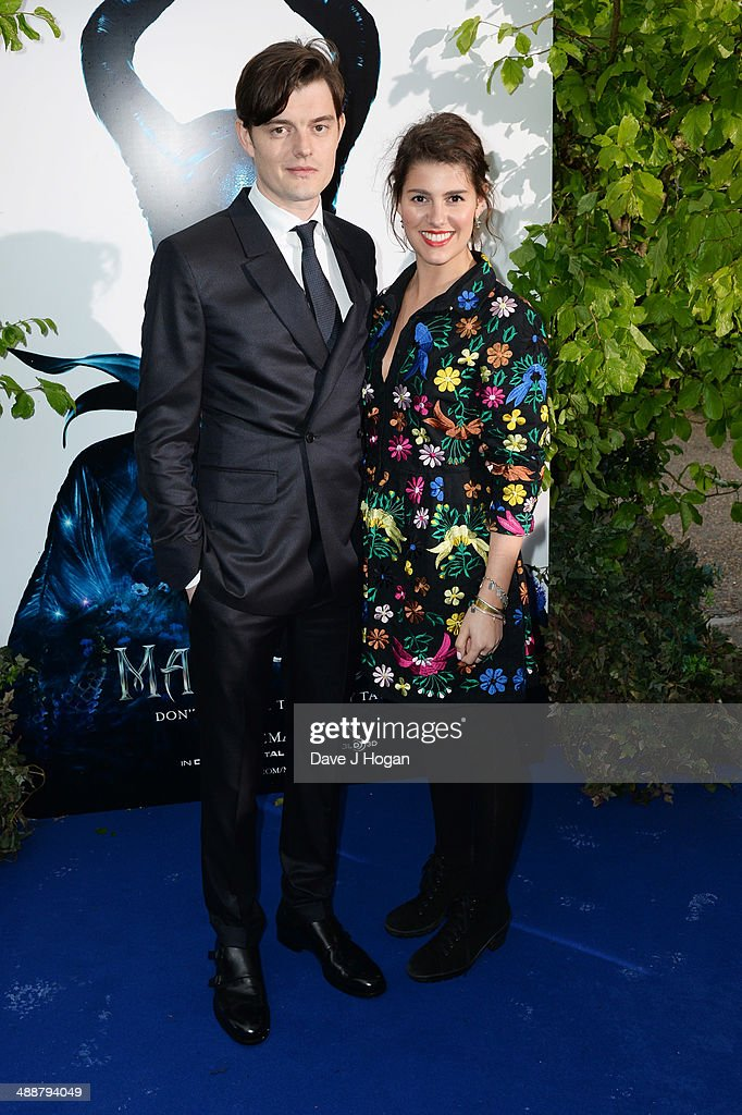 Annabel Riley and Sam Riley attend the 'Maleficent' Costume And Props Private Reception at Kensington Palace on May 8 2014 in London England