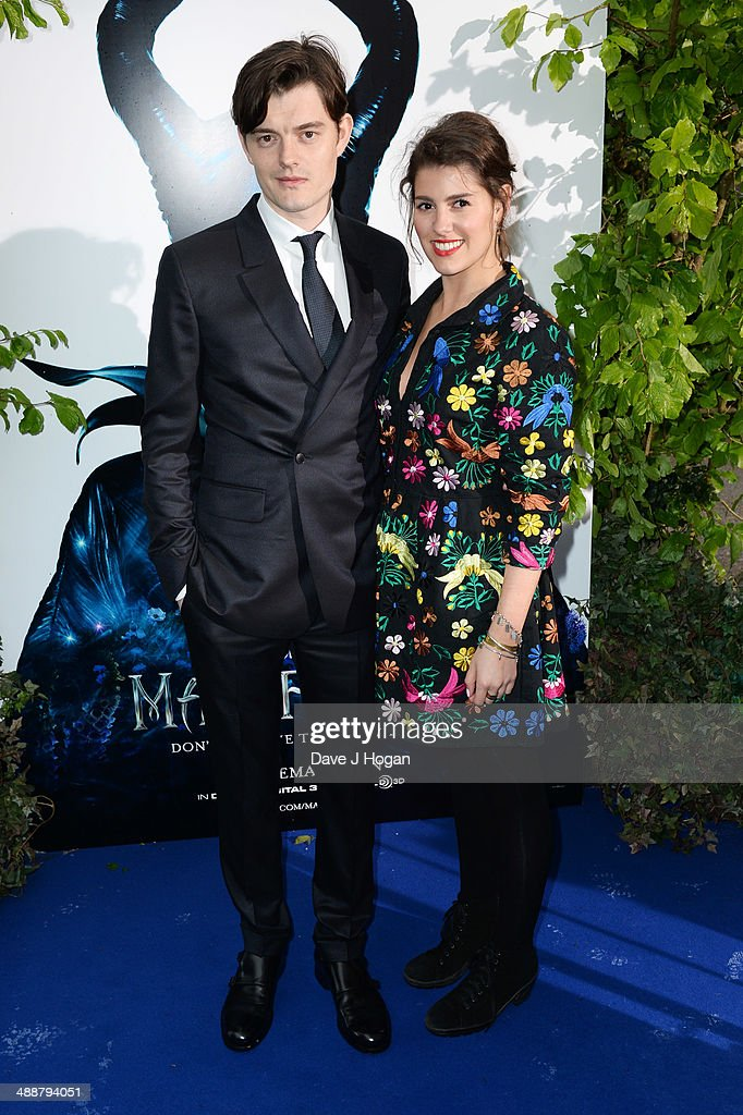 Annabel Riley and Sam Riley attend the 'Maleficent' Costume And Props Private Reception at Kensington Palace on May 8, 2014 in London, England.