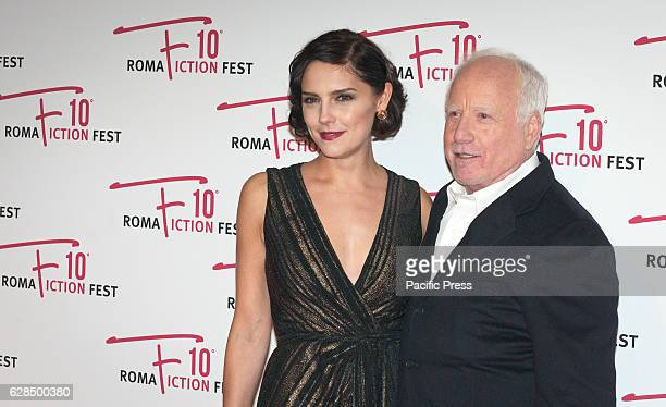 Annabel Scholey and Richard Dreyfuss attend the Opening Ceremony of Roma Fiction Fest 2016