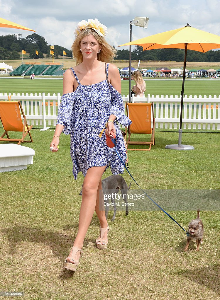 Annabel Simpson attends the Veuve Clicquot Gold Cup Final at Cowdray Park Polo Club on July 20, 2014 in Midhurst, England.