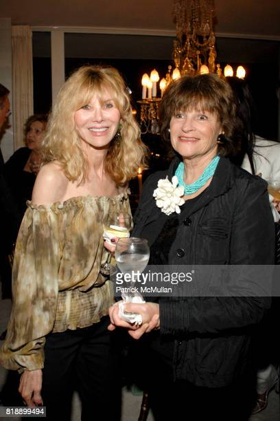 Annabel W and Bobbi Elliott attend Mayor Antonio Villaraigosa celebrates Nikki Haskell's Birthday at Sierra Towers on May 17th 2010 in West Hollywood...