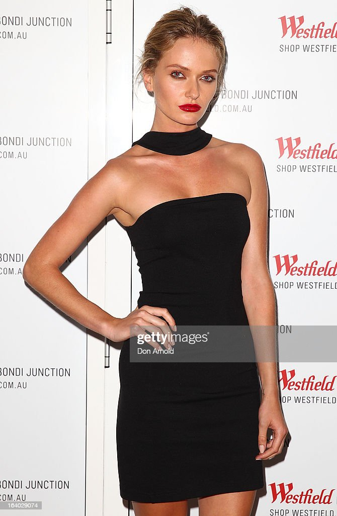 Annabella Barber poses at the Westfield Autumn/Winter 2013 launch at Pelicano Bar on March 19, 2013 in Sydney, Australia.