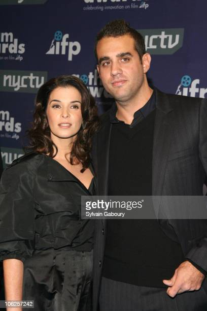 Annabella Sciorra and Bobby Cannavale during 16th Annual Gotham Awards Red Carpet at Chelsea Piers at Pier 60 in New York City New York United States