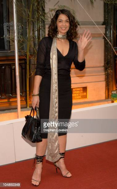 Annabella Sciorra during Cartier party for Le Baiser du Dragon honoring New Yorkers for Children at The Cartier Store in New York City New York...