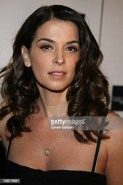 Annabella Sciorra during 'Find Me Guilty' New York Premiere Inside Arrivals at Sony Lincoln Square Theater in New York New York United States