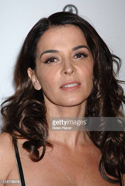 Annabella Sciorra during 'Find Me Guilty' New York Premiere Inside Arrivals at Sony Lincoln Square in New York City New York United States