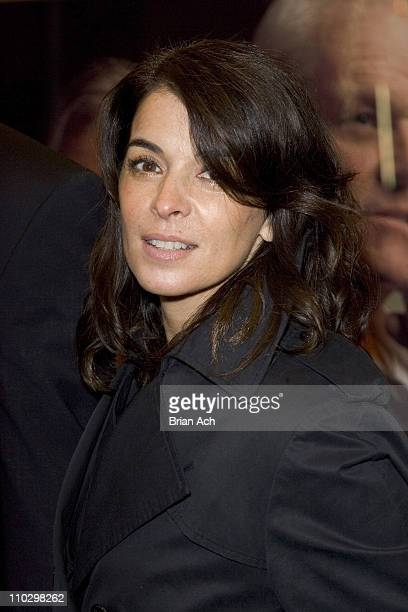 Annabella Sciorra during 'Inherit the Wind' Opening Night on Broadway Arrivals at Lyceum Theatre in New York City New York United States
