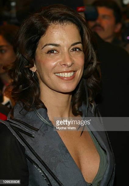 Annabella Sciorra during Russell Simmons's Def Poetry Jam on Broadway Arrivals in New York New York United States