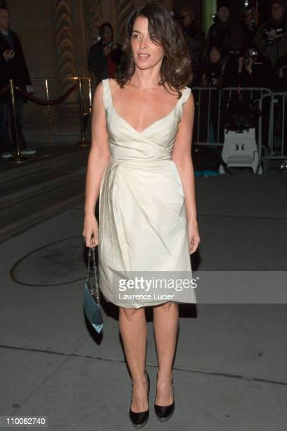 Annabella Sciorra during The 2006 National Board of Review of Motion Pictures Awards Gala Outside Arrivals at Ciprians 42nd St in New York City New...