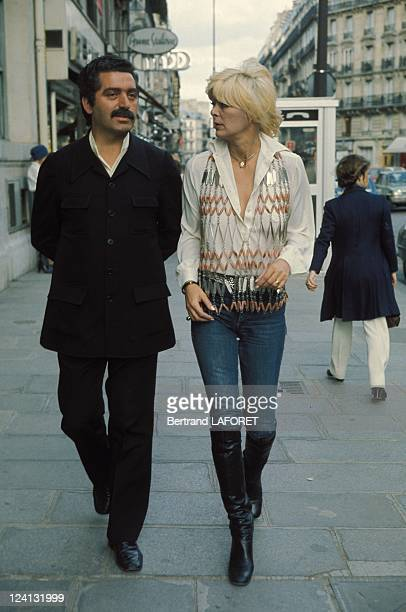 Annabelle Buffet wearing Paco Rabanne's in France in May 1976 With Paco Rabanne