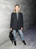 Annabelle Dexter Jones attends Charlotte Ronson Front Row Backstage MercedesBenz Fashion Week Fall 2015 at The Salon at Lincoln Center on February 13...