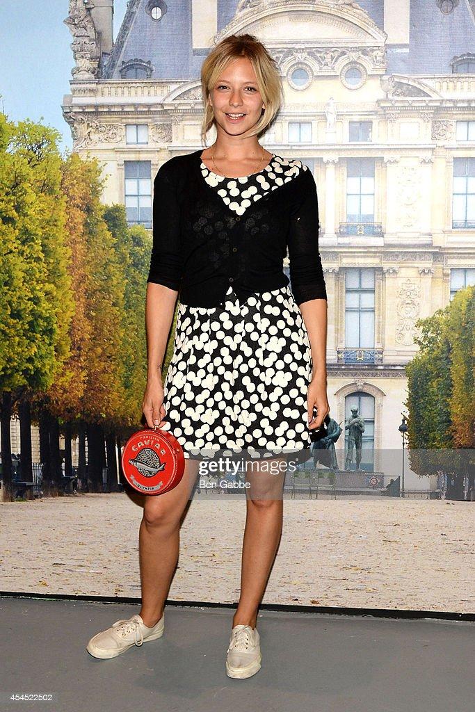 Annabelle Dexter Jones attends the Maison Jules Presentation during Mercedes-Benz Fashion Week Spring 2015 at Art Beam on September 2, 2014 in New York City.