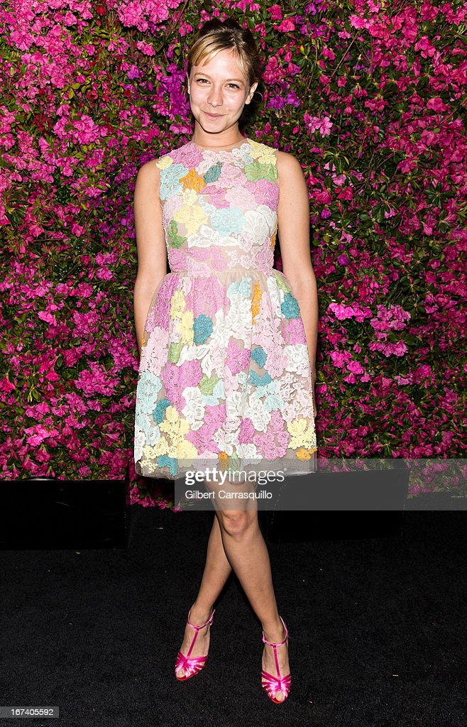 Annabelle Dexter-Jones attends the 8th annual Chanel Artists Dinner during the 2013 Tribeca Film Festival at The Odeon on April 24, 2013 in New York City.