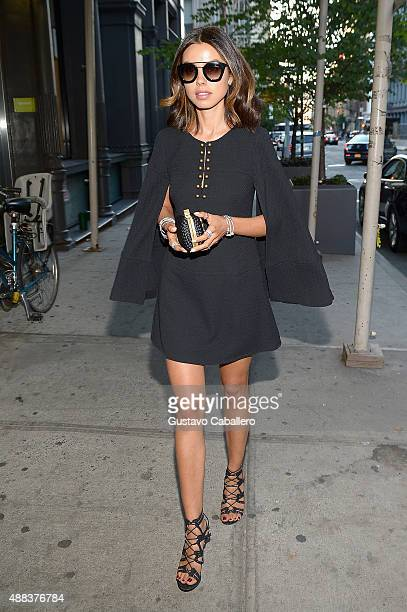 Annabelle Fleur attends PANDORA Jewelry X Nanette Lepore at New York Fashion Week on September 15 2015 in New York City