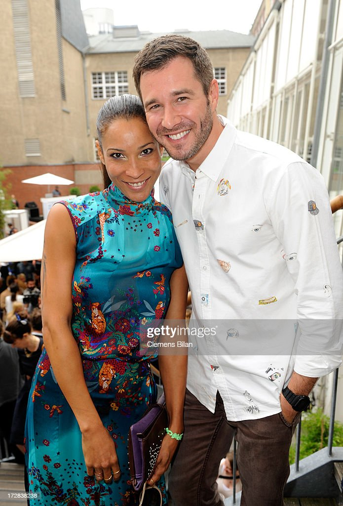 <a gi-track='captionPersonalityLinkClicked' href=/galleries/search?phrase=Annabelle+Mandeng&family=editorial&specificpeople=228754 ng-click='$event.stopPropagation()'>Annabelle Mandeng</a> and Jochen Schropp attend the Gala Fashion Brunch at Ellington Hotel on July 5, 2013 in Berlin, Germany.