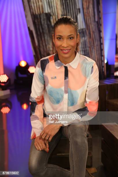 Annabelle Mandeng attends the 22nd RTL Telethon on November 24 2017 in Huerth Germany