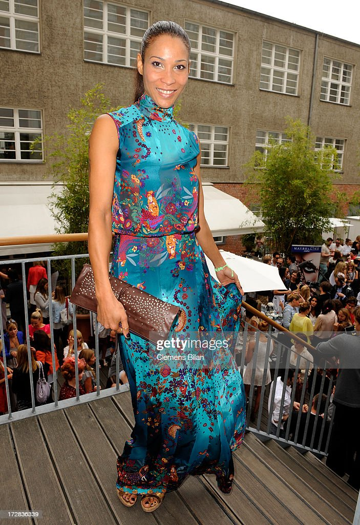 Annabelle Mandeng attends the Gala Fashion Brunch at Ellington Hotel on July 5, 2013 in Berlin, Germany.
