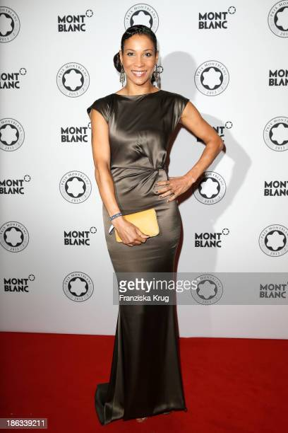 Annabelle Mandeng attends the Prix Montblanc 2013 at Konzerthaus Am Gendarmenmarkt on October 30 2013 in Berlin Germany