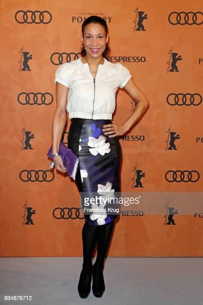 Annabelle Mandeng attennds the Audi Berlinale Brunch during the 67th Berlinale International Film Festival on February 12 2017 in Berlin Germany