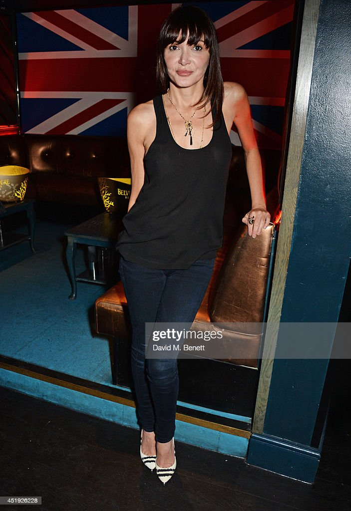 Annabelle Neilson attends Jo Wood and Yasmin Mill's Summer Party at Boujis on July 9, 2014 in London, England.