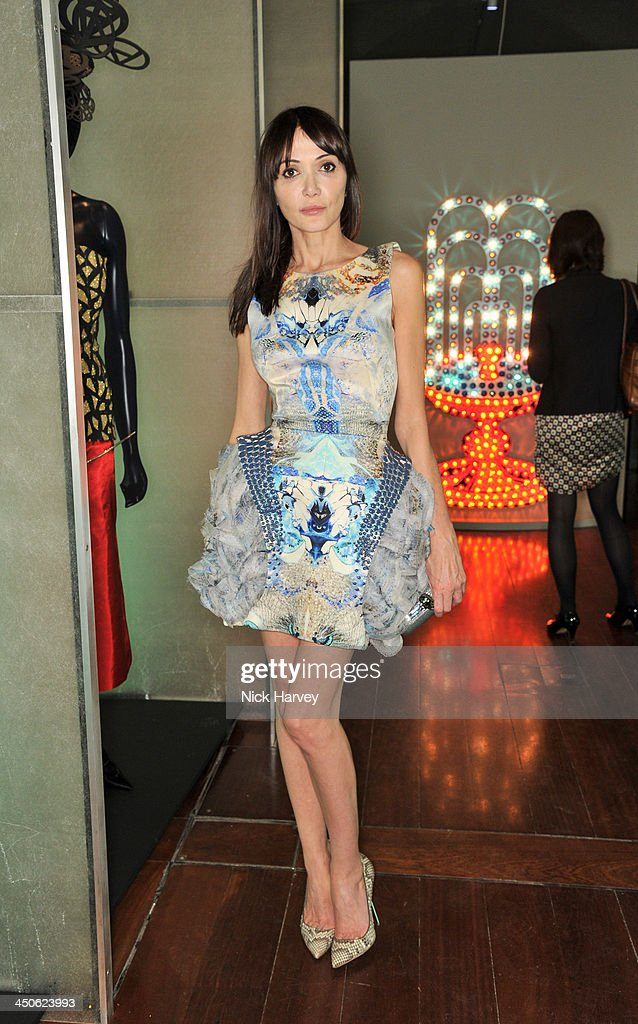 Annabelle Neilson attends the private view of Isabella Blow: Fashion Galore! Party at Somerset House on November 19, 2013 in London, England.