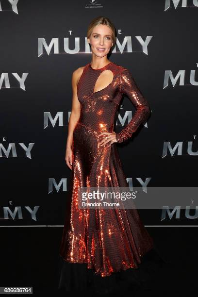 Annabelle Wallis arrives ahead of The Mummy Australian Premiere at State Theatre on May 22 2017 in Sydney Australia