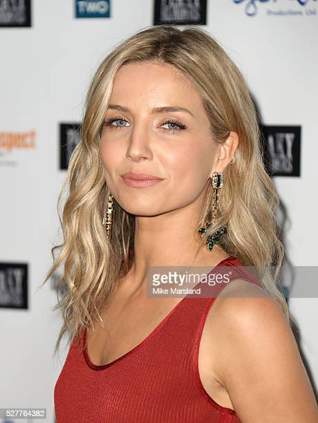 Annabelle Wallis attends BBC Two's drama 'Peaky Blinders' UK premiere screening of episode one series three at BFI Southbank on May 3 2016 in London...