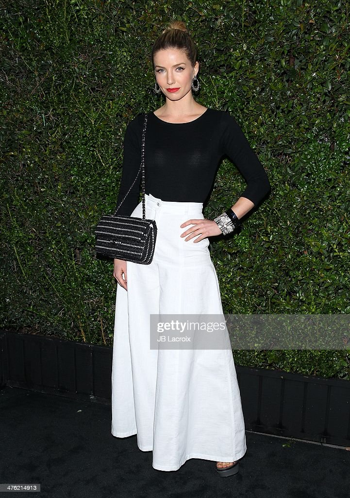 <a gi-track='captionPersonalityLinkClicked' href=/galleries/search?phrase=Annabelle+Wallis&family=editorial&specificpeople=5645087 ng-click='$event.stopPropagation()'>Annabelle Wallis</a> attends the Chanel Charles Finch Pre-Oscar Dinner held at Madeo Restaurant on March 1, 2014 in Los Angeles, California.