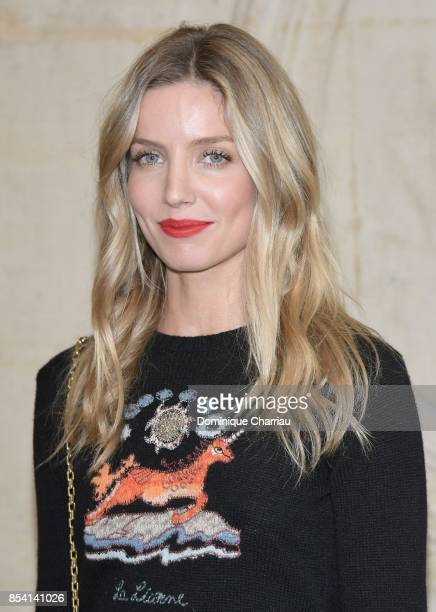Annabelle Wallis attends the Christian Dior show as part of the Paris Fashion Week Womenswear Spring/Summer 2018 on September 26 2017 in Paris France