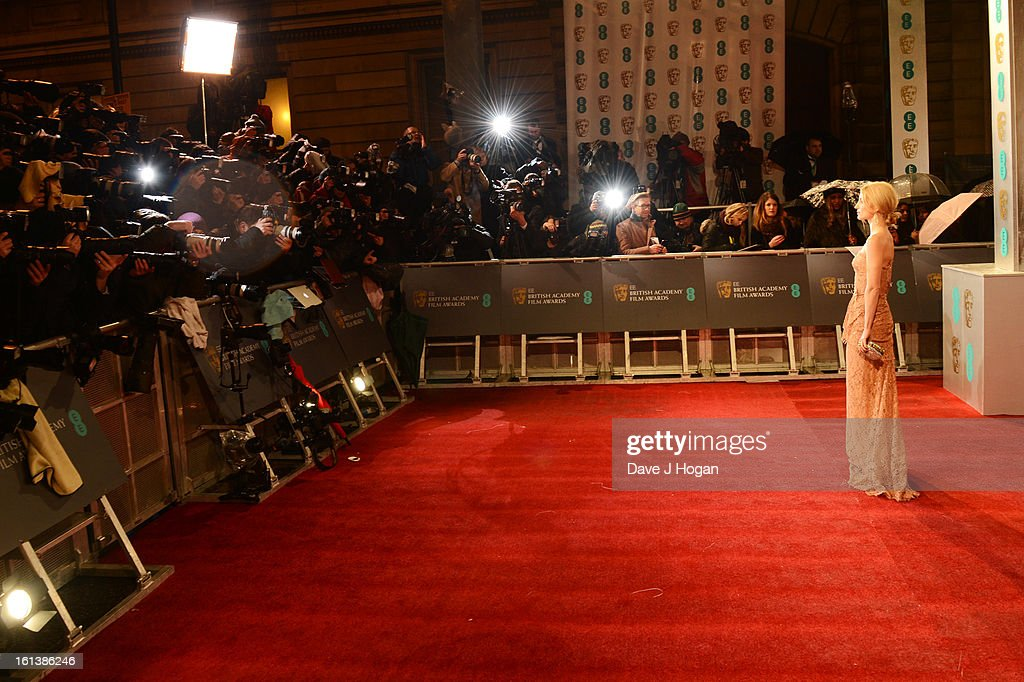 Annabelle Wallis attends The EE British Academy Film Awards 2013 at The Royal Opera House on February 10, 2013 in London, England.