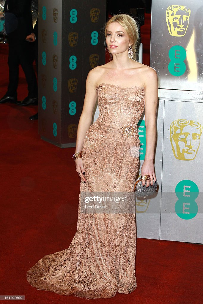 Annabelle Wallis attends the EE British Academy Film Awards at The Royal Opera House on February 10, 2013 in London, England.
