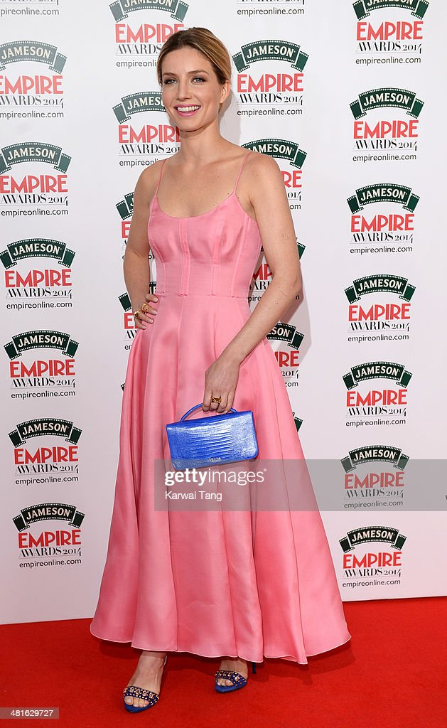 <a gi-track='captionPersonalityLinkClicked' href=/galleries/search?phrase=Annabelle+Wallis&family=editorial&specificpeople=5645087 ng-click='$event.stopPropagation()'>Annabelle Wallis</a> attends the Jameson Empire Film Awards at Grosvenor House on March 30, 2014 in London, England.