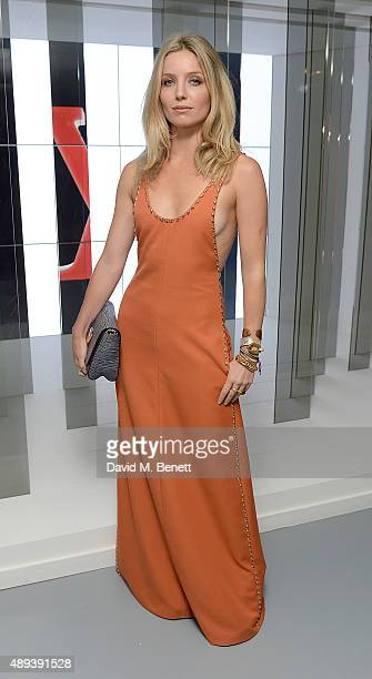 Annabelle Wallis attends the Louis Vuitton Series 3 VIP launch during London Fashion Week SS16 on September 20 2015 in London England