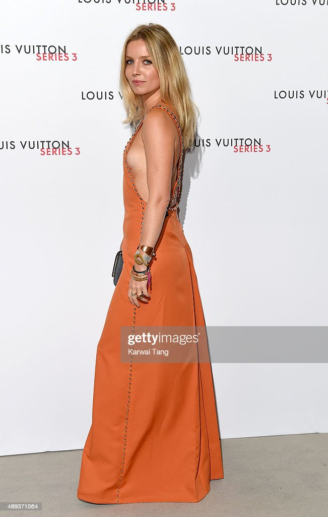 Annabelle Wallis attends the Louis Vuitton Series 3 VIP Launch on September 20, 2015 in London, England.