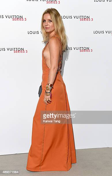 Annabelle Wallis attends the Louis Vuitton Series 3 VIP Launch on September 20 2015 in London England