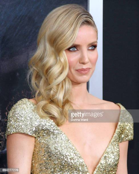 Annabelle Wallis attends 'The Mummy' Fan Event at AMC Loews Lincoln Square on June 6 2017 in New York City