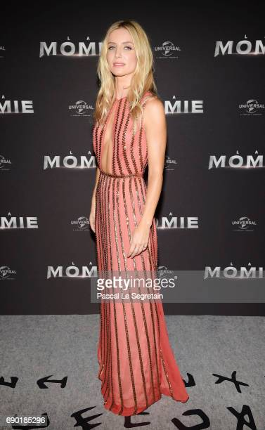 Annabelle Wallis attends 'The Mummy La Momie' Paris Premiere at Le Grand Rex on May 30 2017 in Paris France
