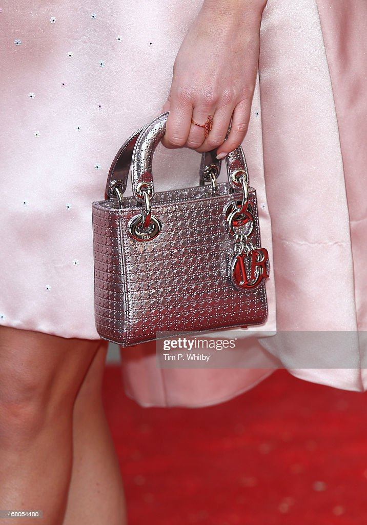 Annabelle Wallis handbag detail attends the Jameson Empire Awards 2015 at Grosvenor House Hotel on March 29 2015 in London England