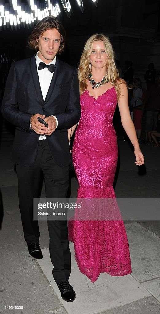 Annabelle Wallis leaving The V&A Museum on July 25, 2012 in London, England.